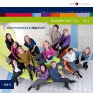 Strategisch plan CvO - Hogeschool van Arnhem en Nijmegen