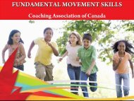 Fundamental Movement Skills - Coaching Association of Canada