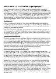 Länsstyrelsen - Ta ert ansvar som tillsynsmyndighet! - Fältbiologerna