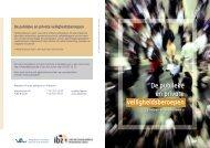 De publieke en private veiligheidsberoepen - Algemene Directie ...