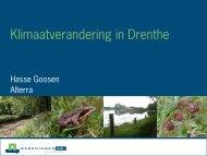 Klimaatverandering - Provincie Drenthe