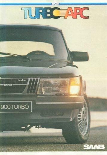 82 SAAB 900 Turbo - SAAB 900 classic