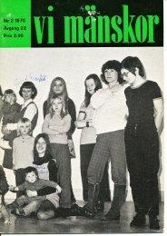 1970/2 - Vi Mänskor