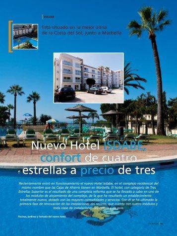 Nuevo Hotel ISDABE, confort de cuatro estrellas ... - Caja de Badajoz