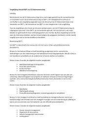 Vergelijking inhoud EBC*L en CE Ondernemerschap ... - Ondernemen