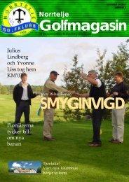 Norrtelje Golfmagasin, Nr 1/2003, © Marcus Ahlin