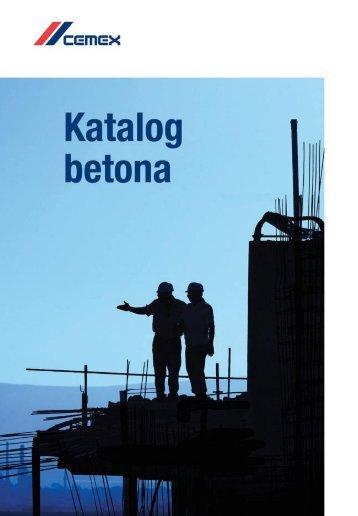 Pogledajte Katalog betona 2012. - Cemex