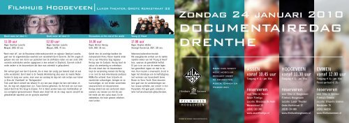 DOCUMENTAIREDAG DRENTHE - Asser Filmliga