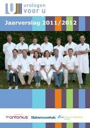 Download hier het jaarverslag 2011-2012 - Urologen voor u