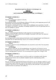 Interpretatieregelen - Vlaams Artsensyndicaat