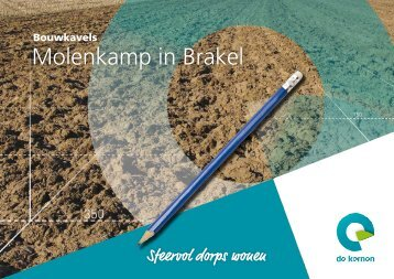 Brochure bouwkavels Molenkamp in Brakel - De Kernen
