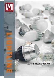 LED lyskilder fra OSRAM - Lemvigh-Müller