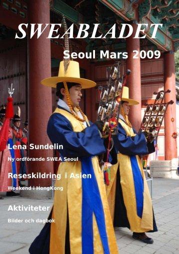Sweabladet Seoul mars 2009 - SWEA International