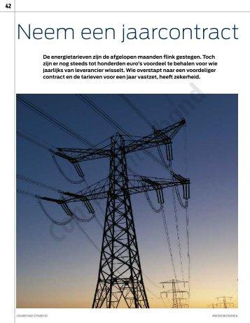 Consumentengids september 2011 Prijspeiling energie