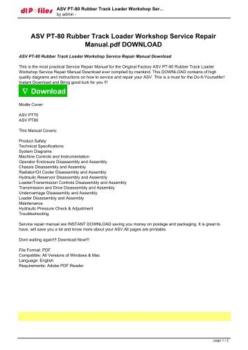 asv pt 80 rubber track loader workshop service repair manualpdf download?quality\\\=85 asv rc50 wiring diagram asv rc60, asv rc 50 parts, asv asv rc60 wiring diagram at edmiracle.co
