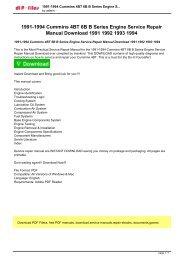 how to rebuild honda b-series engines pdf download