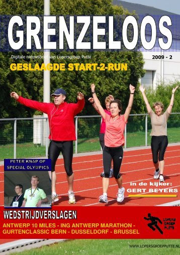 ing antwerp marathon - Lopersgroep Putte