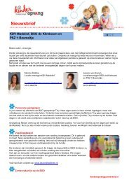Nieuwsbrief - Stichting Kinderopvang Purmerend