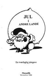 Jul i andre lande - Inerisaavik
