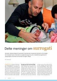 Se artikkelen slik den stod på trykk i GENialt 1/2011