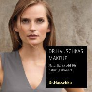 Sminkbroschyr april 2011.pdf - Dr.Hauschka Hudvård