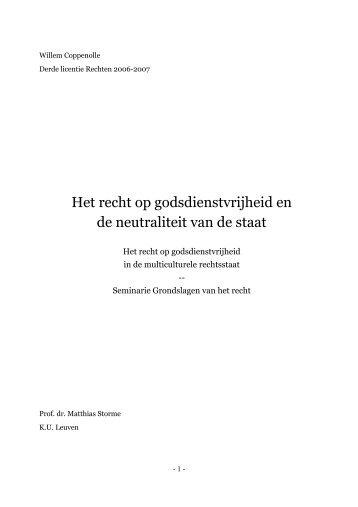 via deze link - Willem Coppenolle