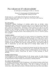Resume af evalueringsrapport - Børns Voksenvenner
