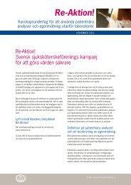 Läs Re-Aktion: Kunskapsunderlag för patientnära analyser - Svensk ...