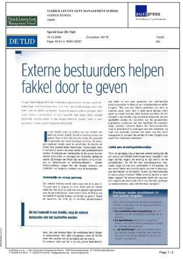Externe bestuurders helpen fakkel door te geven.pdf - GUBERNA