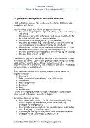 Tilsynserklæring 2012 - 2013 - Skoleporten Horslunde Realskole