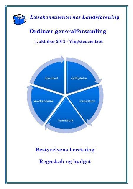 Bestyrelsens skriftlige beretning for foreningsåret 2012 kan læses