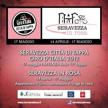 SERAVEZZA CITTÀ DI TAPPA GIRO D'ITALIA 2012 SERAVEZZA IN ...
