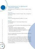 Funktionsbeskrivelse for sygeplejersker med specialuddannelse i ... - Page 6