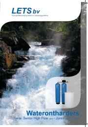 Folder waterontharders - LETS BV