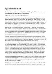 Thomas Illum Hansen: Tjek på læremidler - Læremiddel.dk