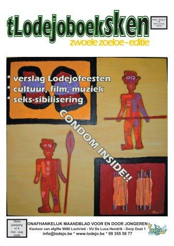 Boekje mei-aug 2006.indd - Jeugdhuis Lodejo