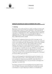Strategi för utveckling och export av miljöteknik 2011–2014