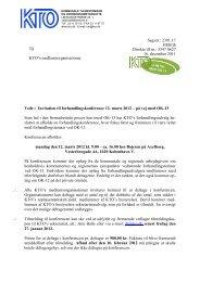 Invitation til forhandlingskonference 12. marts 2012 – på vej ... - KTO