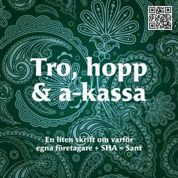 SHA a-kassa folder 2012.pdf - Svensk Handel