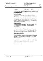 12. Revidering av personalplan, arbetsmiljöplan och pensionspolicy ...