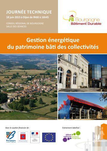 Gestion énergétique du patrimoine bâti des collectivités