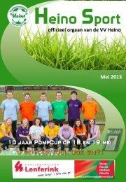 Februari 2013 Mei 2013 - VV Heino