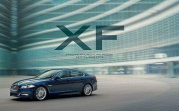 XF Ausstattungs- und Preisliste (Stand 09/12) - bei Auto Sport Stopka