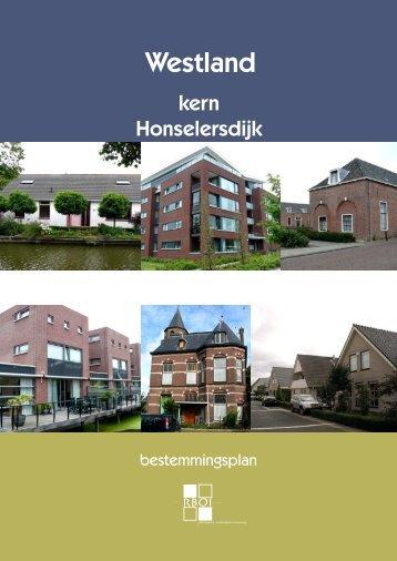 Ontwerp bestemmingsplan kern Honselersdijk - Gemeente Westland