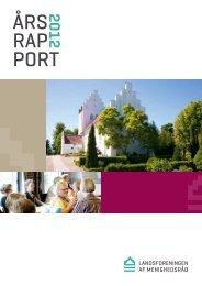 Årsrapport 2012 - Landsforeningen af Menighedsråd