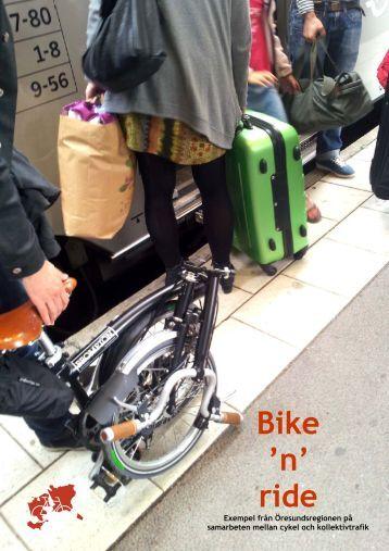 Slutrapporten på svenska - Öresund som cykelregion