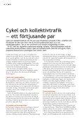 Slutrapporten på svenska - Öresund som cykelregion - Page 4