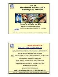 Curso de Boas Práticas de Fabricação e Manipulação de Alimentos