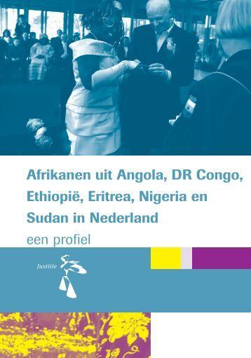 Afrikanen uit Angola, DR Congo, Ethiopië, Eritrea, Nigeria en Sudan ...
