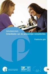 Ontwikkelen van de persoonlijke competenties - Fedweb